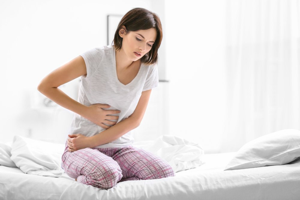 woman with irritable bowel syndrom